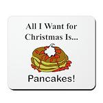 Christmas Pancakes Mousepad