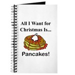 Christmas Pancakes Journal