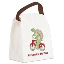 Personalized Bicycle Canvas Lunch Bag