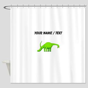Brachiosaurus (Custom) Shower Curtain