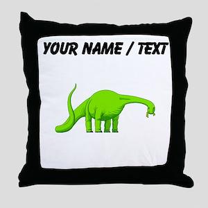 Brachiosaurus (Custom) Throw Pillow