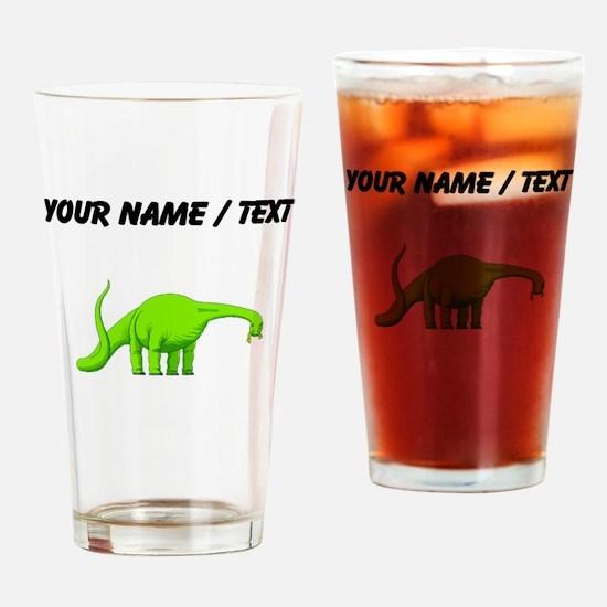 Brachiosaurus (Custom) Drinking Glass