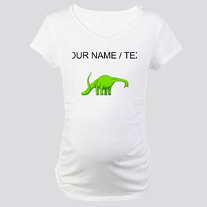 Brachiosaurus (Custom) Maternity T-Shirt