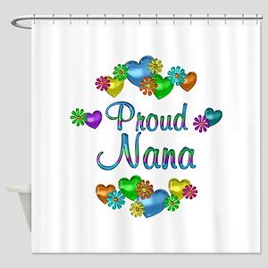 Proud Nana Shower Curtain
