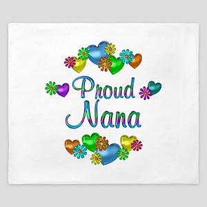 Proud Nana King Duvet
