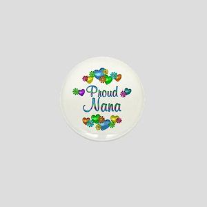 Proud Nana Mini Button