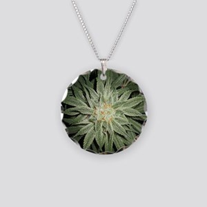 Cannabis Plant Necklace