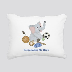 Personalized Sports - El Rectangular Canvas Pillow
