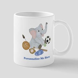 Personalized Sports - Elephant Mug