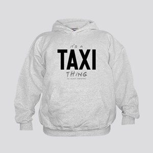 It's a Taxi Thing Kid's Hoodie