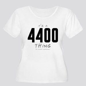 It's a 4400 Thing Women's Plus Size Scoop Neck T-S