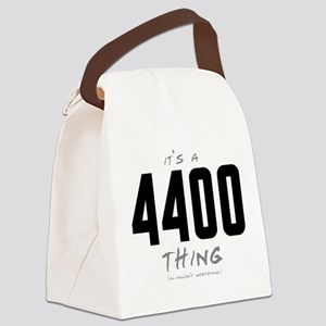 It's a 4400 Thing Canvas Lunch Bag