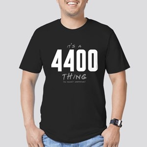 It's a 4400 Thing Men's Dark Fitted T-Shirt