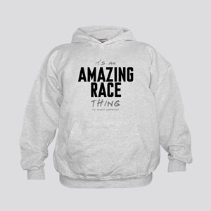 It's a Amazing Race Thing Kid's Hoodie