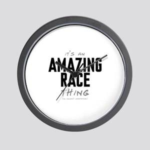 It's a Amazing Race Thing Wall Clock