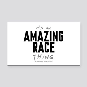 It's a Amazing Race Thing Rectangle Car Magnet