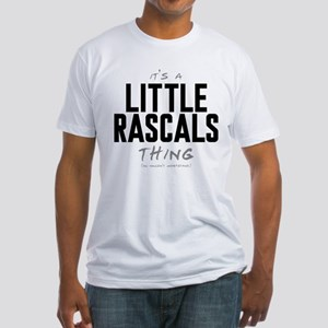 It's a Little Rascals Thing Fitted T-Shirt