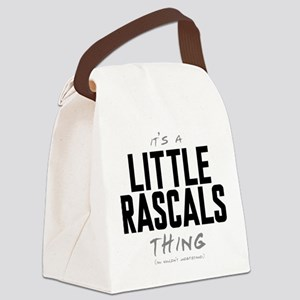 It's a Little Rascals Thing Canvas Lunch Bag