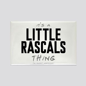 It's a Little Rascals Thing Rectangle Magnet