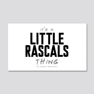It's a Little Rascals Thing 22x14 Wall Peel