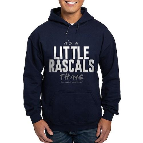It's a Little Rascals Thing Dark Hoodie