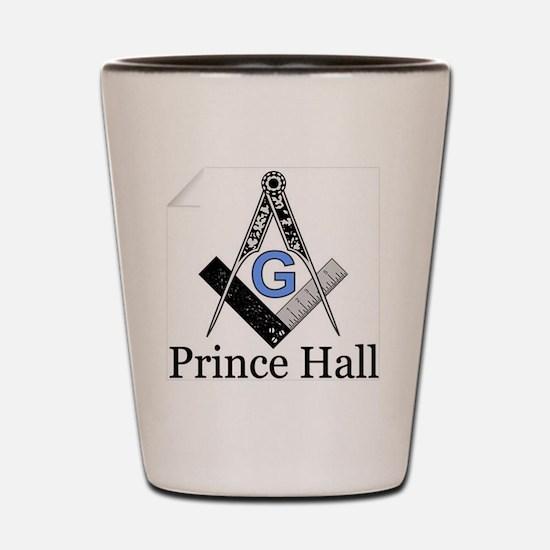 Funny Prince hall Shot Glass