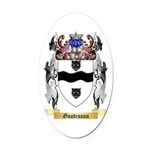 Goodisson Oval Car Magnet