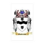 Gooderson Sticker (Rectangle 50 pk)