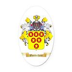 Gooderham Oval Car Magnet