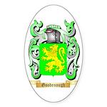 Goodenough Sticker (Oval 50 pk)