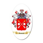 Goodale 35x21 Oval Wall Decal