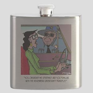 Science Cartoon 1825 Flask