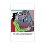 Science Cartoon 1825 Mini Poster Print