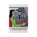 Science Cartoon 1825 Rectangle Magnet (10 pack)