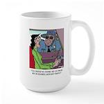 Science Cartoon 1825 Large Mug