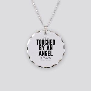It's a Touched by an Angel Thing Necklace Circle C