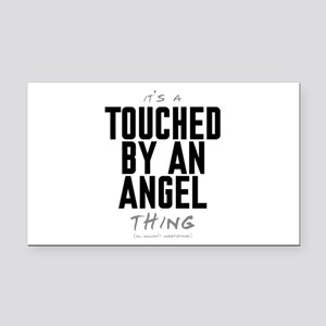 It's a Touched by an Angel Thing Rectangle Car Mag