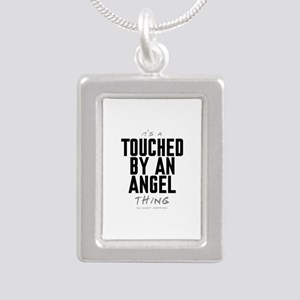 It's a Touched by an Angel Thing Silver Portrait N