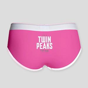 It's a Twin Peaks Thing Women's Boy Brief