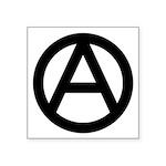 "Anarchy Symbol Square Sticker 3"" X 3"""