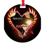 PAWetry - Poetic RUFFS Ornament