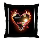 PAWetry - Poetic RUFFS Throw Pillow