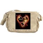 PAWetry - Poetic RUFFS Messenger Bag
