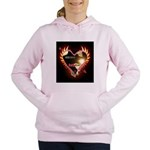 PAWetry - Poetic RUFFS Women's Hooded Sweatshirt