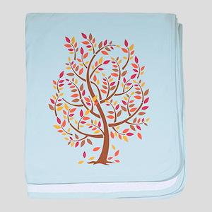 Autumn Tree baby blanket
