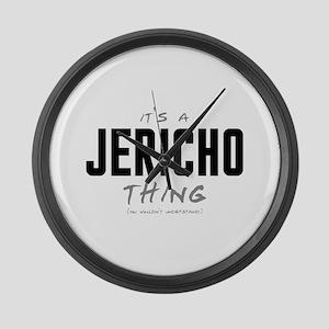 It's a Jericho Thing Large Wall Clock