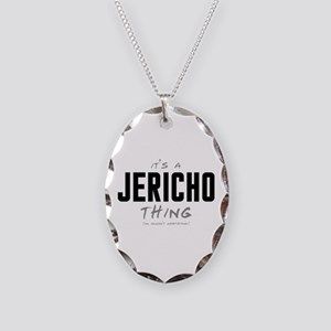 It's a Jericho Thing Necklace Oval Charm