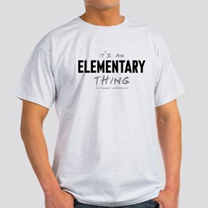 It's an Elementary Thing Light T-Shirt