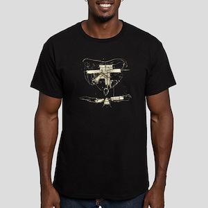 sketch Men's Fitted T-Shirt (dark)
