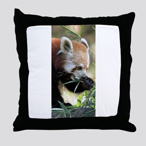 Red Panda 002 Throw Pillow